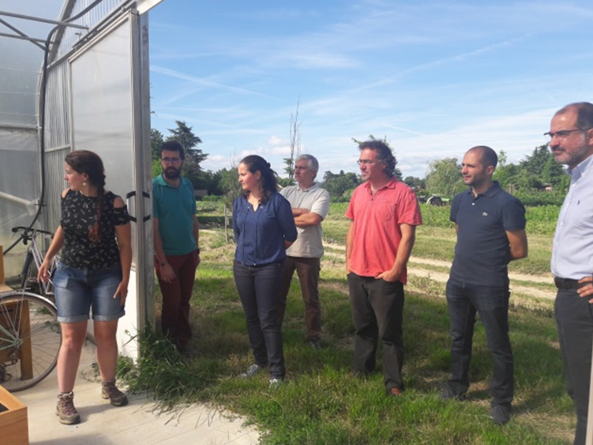 Our Demonstration Site In Lyon Is Shaping Up After The Consortium Visits Refarmers