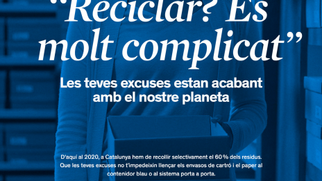 """""""We Need You, Recycle"""", The New Campaign Of The Waste Agency Of Catalonia For The Promotion Of Selective Collection"""