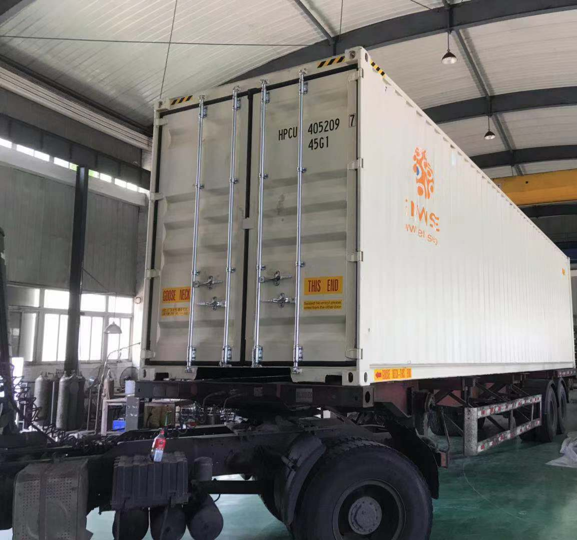 The Pilot Unit Designed For The Demonstration Site In Lyon Now Shipped From China – Big Launch Planned Upon Its Arrival!
