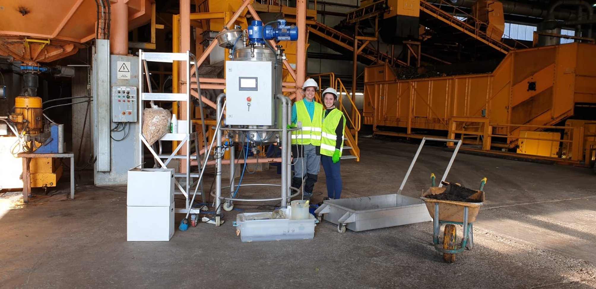 A Novel Alternative For Digestate Valorisation Is Under Development In A Demonstration Plant In Granollers, Spain.